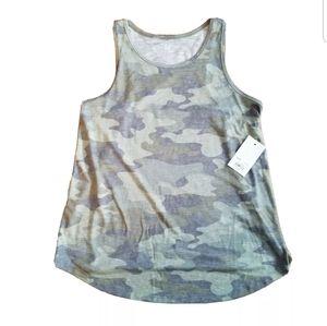 So Camo Tank Top Size Small camouflage Green BA